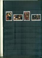 S.LUCIA NOEL 2004 TABLEAUX 4 VAL NEUFS A PARTIR DE 0.75 EUROS - St.Lucie (1979-...)