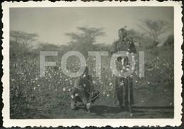 1941 OLD AMATEUR PHOTO FOTO COTTON FACTORY ALGODÃO NAMIALO MOCUBURI NAMPULA MOÇAMBIQUE MOZAMBIQUE AFRICA AFRIQUE AT176 - Africa