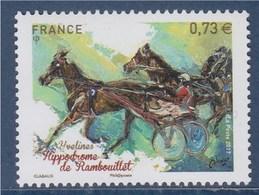 = Hippodrome De Rambouillet Yvelines, 0.73€ N°5158 Neuf Course Trot Attelé, Cheval, - Francia