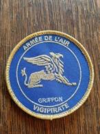 """Ecusson Armée De L'Air """"Griffon"""" VIGIPIRATE - Patches"""