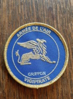 "Ecusson Armée De L'Air ""Griffon"" VIGIPIRATE - Ecussons Tissu"