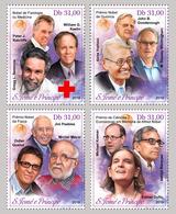 S. TOME & PRINCIPE 2019 - Nobel Prize In Medicine, 4v. Official Issue - Médecine