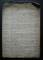1765 Ferme De Mermont Crépy En Valois Oise Inventaire: Titres Acquis Par Bérenger De Duffossé, Depuis 1485 16 Pages - Manuskripte