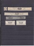 FRANCE FISCAUX LOT BANDES POUR TABACS-CIGARES ET ALLUMETTES-CERTAINES BANDES  DEFAUTS USUELS: AMINCI-PETITE DECHIRURE - Revenue Stamps