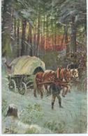 Cheval - Horse - Paard - Pferd - H.K. & Co M. Serie 497 - 1910 - Pferde