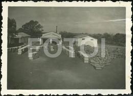 1941 ORIGINAL AMATEUR PHOTO FOTO COTTON FACTORY ALGODÃO NAMPELO ILE ZAMBEZI MOÇAMBIQUE MOZAMBIQUE AFRICA AFRIQUE AT191 - Africa