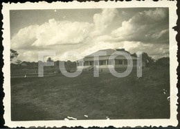1941 ORIGINAL AMATEUR PHOTO FOTO COTTON FACTORY ALGODÃO NAMPELO ILE ZAMBEZI MOÇAMBIQUE MOZAMBIQUE AFRICA AFRIQUE AT192 - Africa