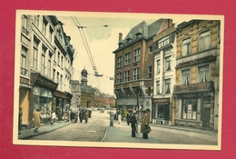 C.P. Mons =  Grand'Place  Vue  De La  Chaussée - Mons