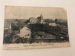Carte Postale Ancienne  ANTHEIT Eglise, Presbytère Et Patronage - Wanze