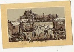 44 - Ostende - Kursaal - Petit Format - Au Verso  Publicité Amidon Remy - Oostende