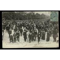 75 - Le Roi Et La Reine D'Italie à PARIS (14-18 Oct.1903) - Au Bois - La Foule - France