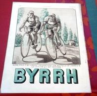 Publicité Année 1936 Apéritif Byrrh Tour De France Issue Revue Illustration - Advertising