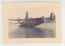 Saint Mandrier Toulon Var Hydravion Dornier 24 Dans Le Port 26 Juin 1948 Beau Format Excellent état - Aviation
