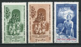 16938  INDE  PA7/9** Protection De L'enfance Indigène, Quinzaine Impériale    1942   TB/TTB - Indië (1892-1954)