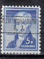 USA Precancel Vorausentwertung Preo, Locals New Jersey, New Monmouth 748 - Vereinigte Staaten
