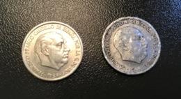 SPAGNA  ESPANA - 1959 - 2 Monete 10 CENTIMOS Francisco Franco - [ 5] 1949-… : Regno