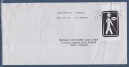 = Cécogramme Enveloppe En Franchise Pour Les Aveugles 28.10.2019 - Marcophilie (Lettres)