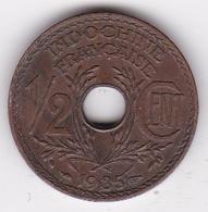 Indochine Française. ½ Cent 1935. Bronze - Belgique
