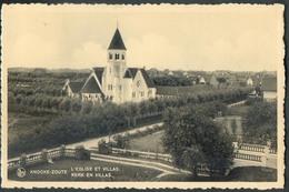 CP De KNOCKE-ZOUTE L'église Et Villas -  - W0478 - Knokke