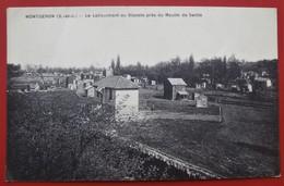 Cpa 91 MONTGERON Anime Lotissement Du Blandin Pres Du Moulin De Senlis - Montgeron
