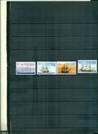 S.LUCIA BATEAUX 4 VAL NEUFS A PARTIR DE 1.25 EUROS - St.Lucie (1979-...)