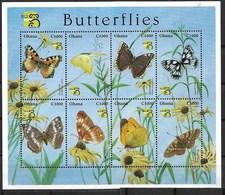 GHANA 1999 BUTTERFLIES MNH - Butterflies