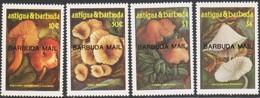 Antigua Barbuda Mail 1986 MiN°917-920 4v Funghi MNH/** Vedere Scansione - Antigua E Barbuda (1981-...)