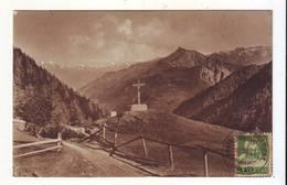 CPA - Au Col De La FORCLAZ Sur MARTIGNY - La Pierre à Voir Et Les Alpes Bernoises - VS Valais