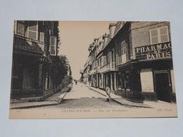 VILLERS SUR MER - CPA 14 - Rue Du Presbytère . Carte Animée. - Villers Sur Mer
