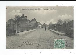 10 Romilly Sur Seine Environs Sauvage Pont Circulé 1907 TBE - Romilly-sur-Seine