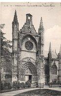 CPA BORDEAUX - EGLISE SAINT MICHEL - FACADE OUEST - Bordeaux