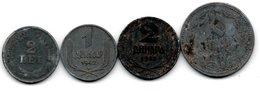 Serbie / Lot De 4 Monnaies - Serbia