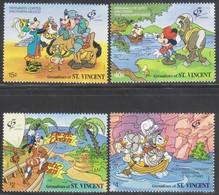 St Vincent Grenadines 1992 Disney MiN°867-870 4v MNH/** Vedere Scansione - St.Vincent E Grenadine