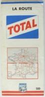 Carte Vintage Michelin De France, SUD, N° 999, La Route TOTAL De 1963, Très Bien. - Cartes Routières