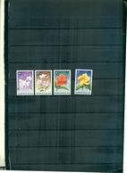 S.LUCIA NOEL 96 FLEURS 4 VAL NEUFS A PARTIR DE 1 EURO - St.Lucie (1979-...)