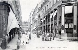 44  NANTES  CREDIT LYONNAIS  RUE BOILEAU - Nantes
