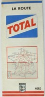Carte Vintage Michelin De France, NORD, N° 998, La Route TOTAL De 1963, Très Bien. - Cartes Routières