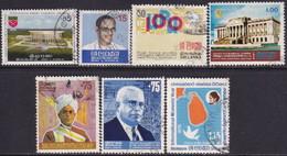 SRI LANKA 1974-75 SG 604-10 Used 7 Issues - Sri Lanka (Ceylon) (1948-...)