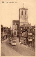 Liège  Basilique St Martin (tram) - Liege