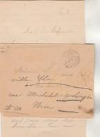 Lettre Ambulance Cachet Trésor Et Postes 20 Du 6/11/1916  à Mlle Calas Marseille Reex Nice Texte Voir Description - WW I