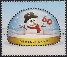 2014Allem. Fed.  Mi. 3111** MNH   Schneemann In Schneekugel - [7] Repubblica Federale
