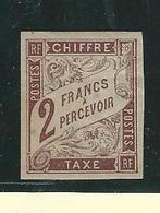 ColonieFrançaise Tmbre Taxe N° 16 - Neuf Avec Charnière Très Bein Centré = Valeur 50 € - Strafportzegels