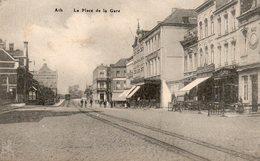 Ath  La Place De La Gare - Ath