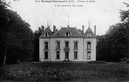 Martigné - Ferchaud (35) - Le Château Du Breil. - Autres Communes