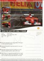 F 1. FERRARI SHELL Japanese Grand Prix 2002. Suzuka Track. Postcard. - Automobile - F1