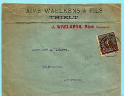 186 V Op Omslag, Afst. THIELT - België
