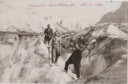 Photola Mer De Glace, CHAMONIX, Mont Blanc, Escalade, Touristes, Piolet - Places