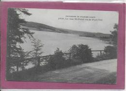 25.-  MALBUISSON . Le Lac Saint-Point Vu De Port Titi - Pontarlier