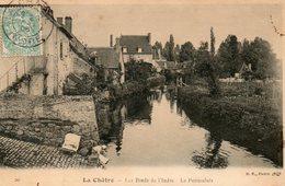 36. CPA. LA CHATRE.  Les Bords De L'indre, Le Pontaulais. 1906. - La Chatre