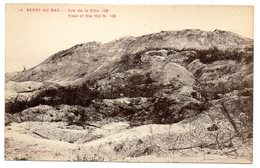 CPA    02         BERRY AU BAC        VUE DE LA COTE 108 - Cimiteri Militari